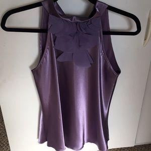 NWOT lavender sleeveless top in size S